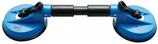 Gummi-Doppelsauger | ABS | mit flexiblen Köpfen | Ø 120 mm | 390 mm 8000