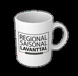 "Tasse ""Regional, Saisonal, Lavanttal"""