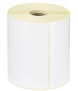 Étiquette papier thermique mandrin 25 mm 100x50 mm