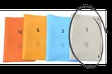Boards weich, 16er-Set; hellgrau