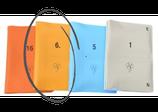 Boards weich, 16er-Set; gelb