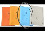 Boards weich, 16er-Set; hellblau