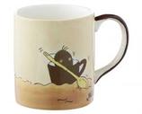 Becher Kaffebohnen Schiff
