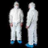 Einweg-Set Schutzbekleidung groß mit Overall XL
