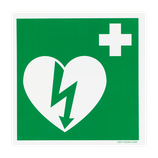 DEFISIGN ILCOR AED STICKER