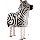 Folienballon Airwalker Ballon Zebra