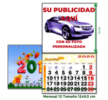 Calendario NEVERA con imán