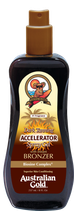 Dark Tanning Accelerator Spray Gel met bronzer
