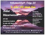 Volksmusikheft 23 - Is scho still uman See