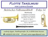 Volksmusikheft 14 - Flotte Tanzlmusi