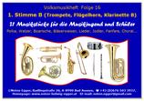 Voksmusikheft 16 - Noten für die Jugend