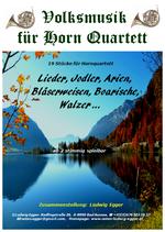 Volksmusik für Horn-Quartett