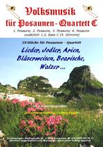 Volksmusik für Posaunen-Quartett