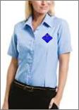 Damen - Bluse kurzärmlich