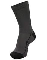 hml court sock - low - grau/schwarz