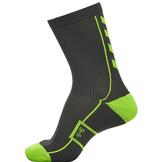 hml court sock - low - grau/grün