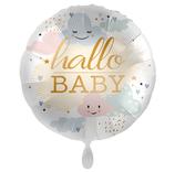 """Folien Ballon 18"""" - Hallo Baby"""