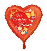 """Folien Ballon 17"""" - Für die liebste Mama"""