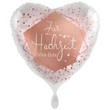 """Folien Ballon 18"""" - Zur Hochzeit alles Gute"""