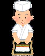 12月4日(水) 川澄先生の寿司講座(クリスマスの飾り巻き寿司と子年のちらし寿司)
