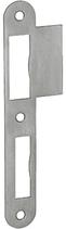 Lappenschliessblech B-1001.431, Grösse 160x20/35 mm, abgerundete Ausführung