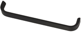 Möbelgriff, Serie 2203, Aluminium matt schwarz