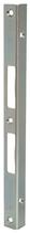 Winkelschliessblech B-1854.133, Grösse 270x20x20 mm, Edelstahl, eckige Ausführung