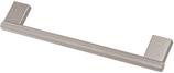 Möbelgriff, Serie 2219, Aluminium edelstahlfinish