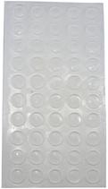 Möbelpuffer ø 8 mm, selbstklebend / 50 Stück