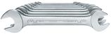 Doppelgabelschlüsselsatz GEDORE 6-27 mm, 10-teilig