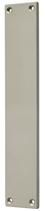 Blindschild Mega 35.460, matt vernickelt, eckig, Grösse 234x42 mm