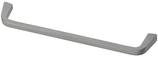 Möbelgriff, Serie 2208, Zamak matt verchromt, Lochabstand 160 mm