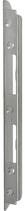 Einfrässchliessblech B-1150.702, Grösse 247x21x23/8 mm