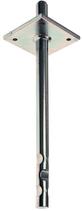 Pfostenstütze mit Platte 80x80 mm, mit Dorn, zum Einbetonieren