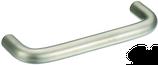 Möbelgriff ø 10 mm, Serie 1034, Stahl matt vernickelt