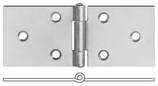 Scharnier breite Form (sog. Tischscharnier)