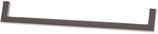 Möbelgriff Profil 8,5x8,5 mm, Serie 2205, Zamak gebürstet grau