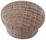 Abdeckknopf Holz