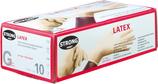 Einweghandschuhe Latex, gepudert, Box à 100 Stück