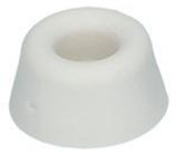 Türpuffer Gummi weiss ø 20 mm, Höhe 10 mm