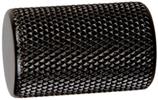 Möbelknopf Aluminium, matt schwarz, ø 17,5 mm