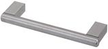 Möbelgriff ø 10 mm, Serie 4911, Edelstahl matt