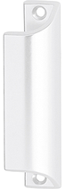 Möbel-/Ziehgriff, Serie 1902, Aluminium weiss RAL 9016, Länge 90 mm