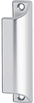 Möbel-/Ziehgriff, Serie 1902, Aluminium farblos eloxiert, Länge 90 mm