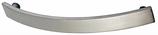 Möbelgriff, Serie 2211, Stahl edelstahlfinish