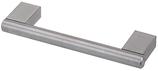 Möbelgriff ø 12 mm, Serie 9041, Edelstahl matt