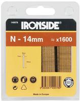 Heftnägel IRONSIDE Typ N, 14 mm, Paket à 1'600 Stück