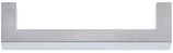 Möbelgriff Profil 12x12 mm, Serie 1378, Edelstahl matt