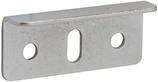 Anschlagwinkel 36x13 mm, für Möbelschlösser, vernickelt
