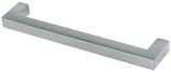 Möbelgriff Profil 10x10 mm, Serie 2212, Zink matt verchromt
